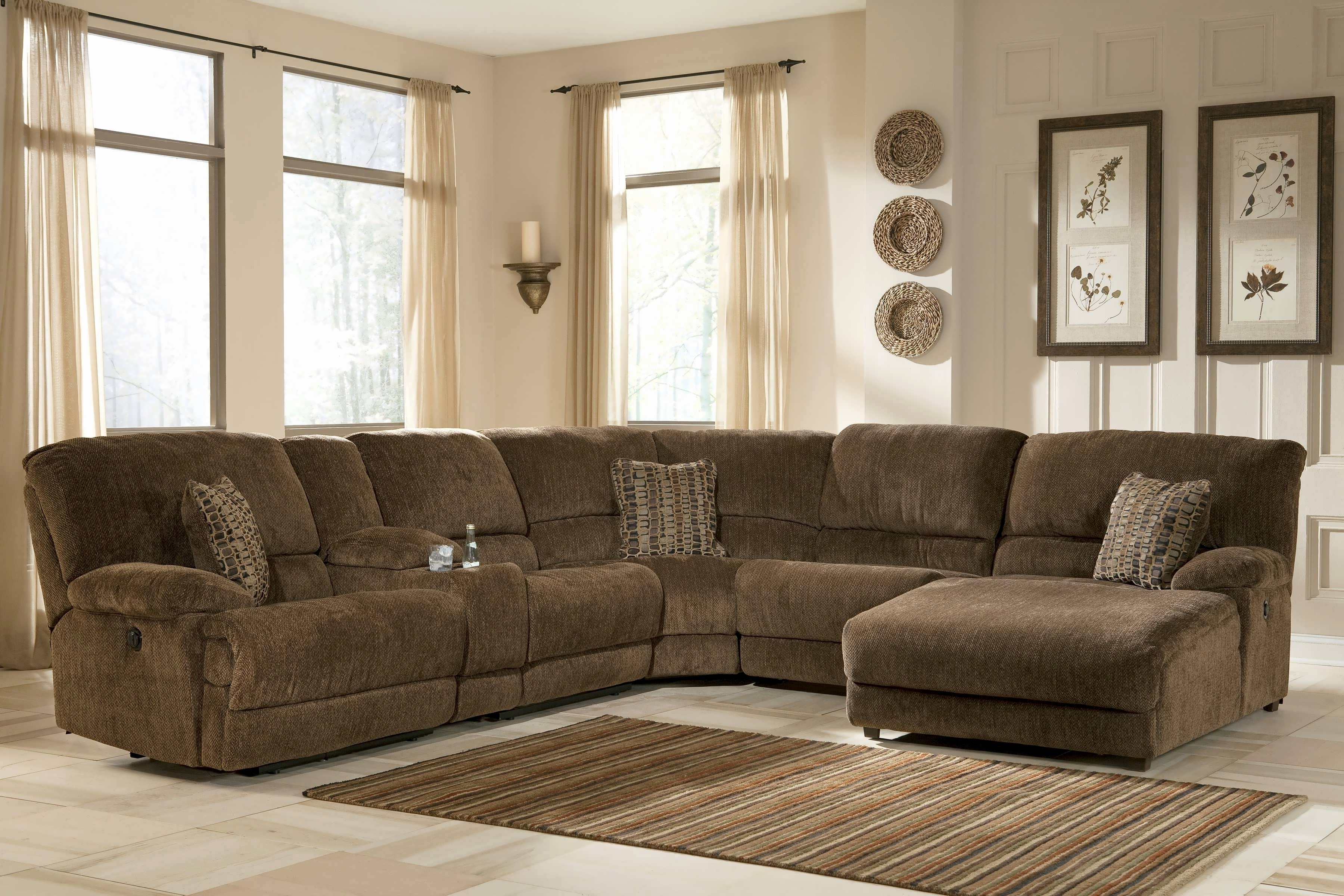 Sectional Sofas With Recliner And Chaise Lounge Throughout Most Recently Released Awesome Best Sectional Sofas Images – Home Design (View 14 of 15)