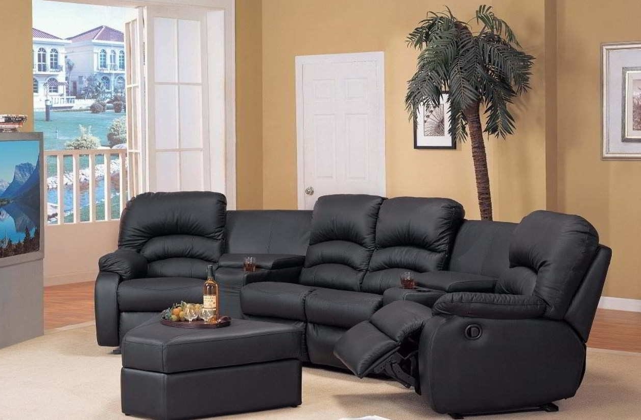 Sectional Sofas With Recliners For Small Spaces With Well Known Curved Sectional Sofa Fascinating Recliner Sofas 28 For Small (View 11 of 15)