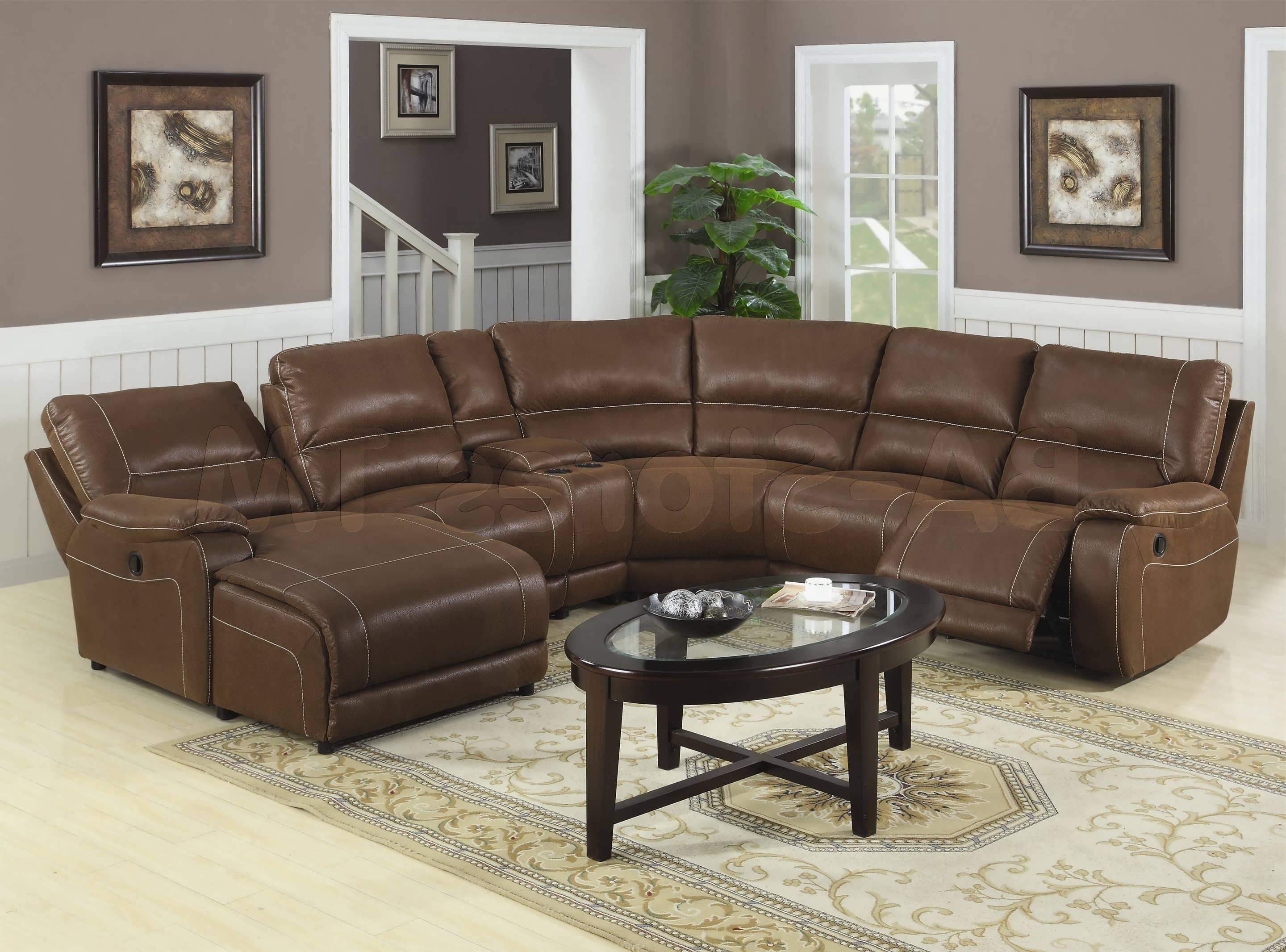 Sectional Sofas With Recliners Pertaining To Well Known Recliners Chairs & Sofa : Fold Out Couch Sectional Sofas With (View 8 of 15)