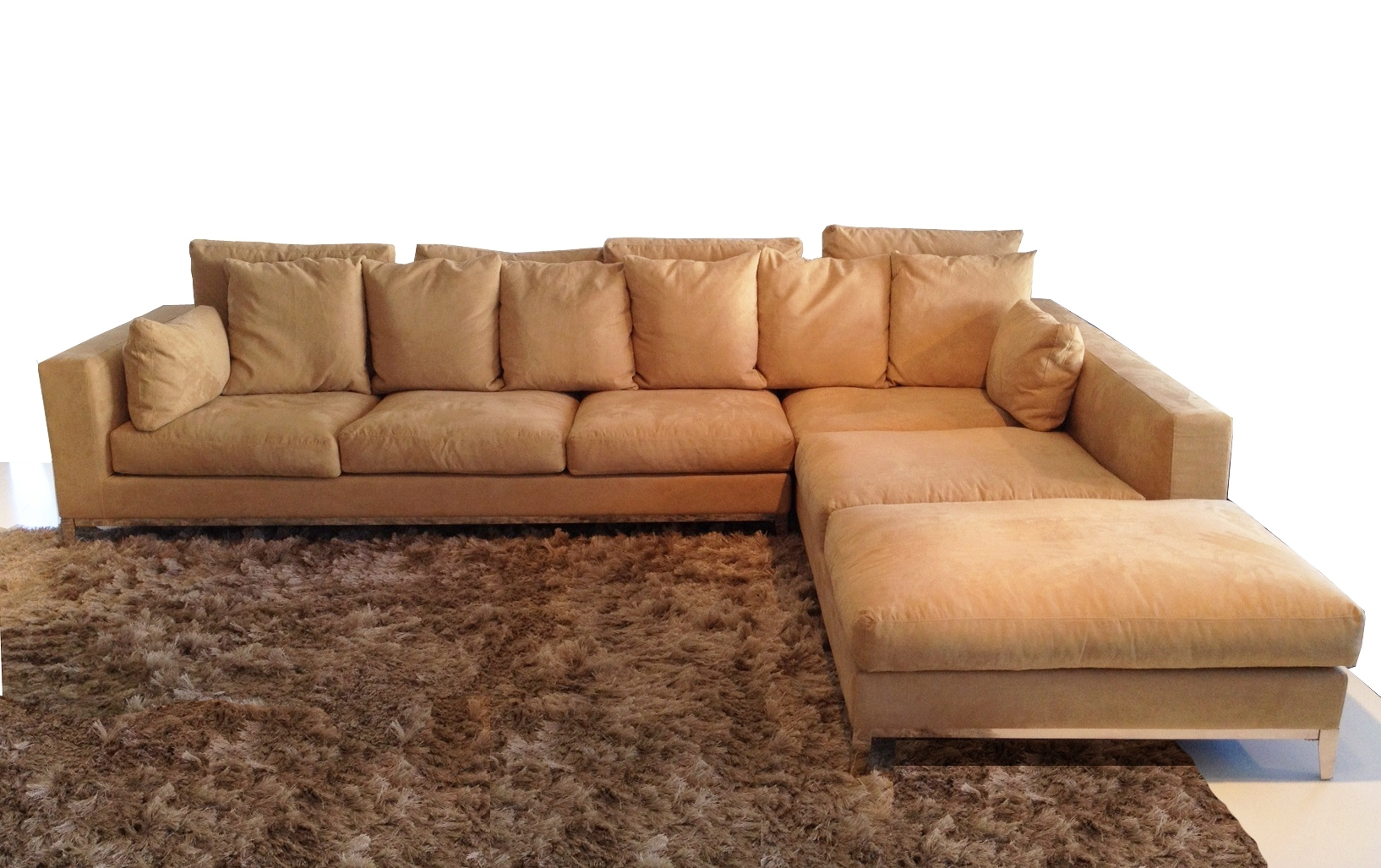 Sectional Sofas With Stainless Steel Legs (View 9 of 15)