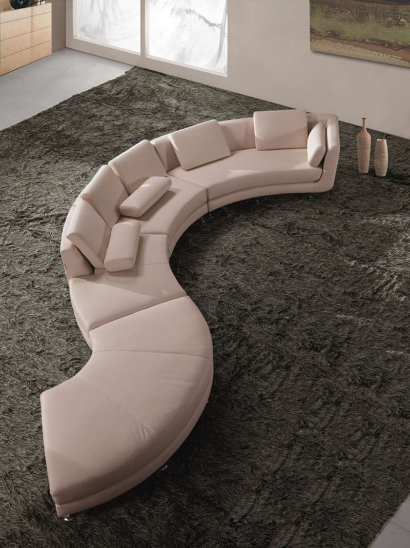 Sectionals In Round Sofas (View 15 of 15)