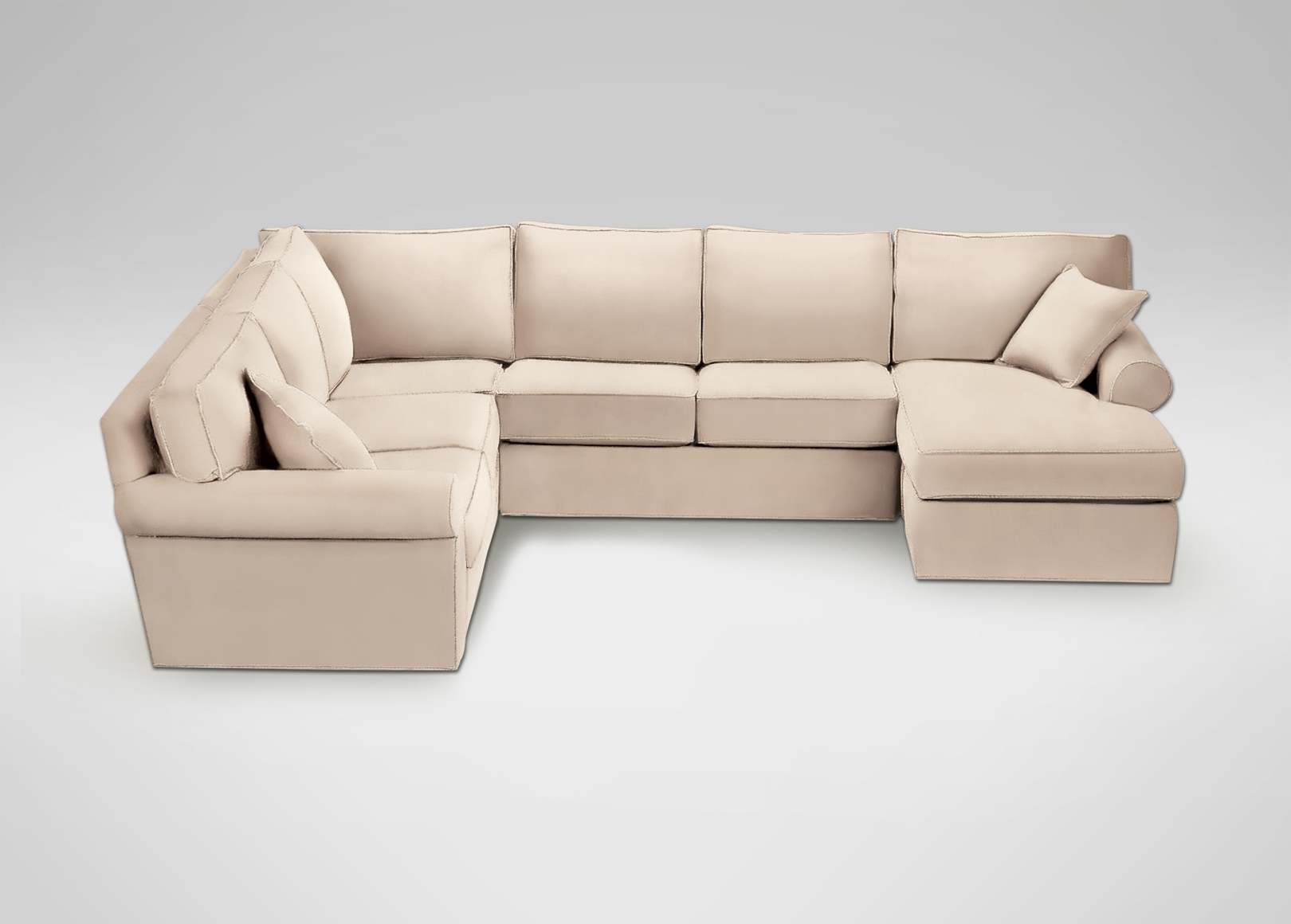 Sectionals intended for Sectional Sofas At Ethan Allen