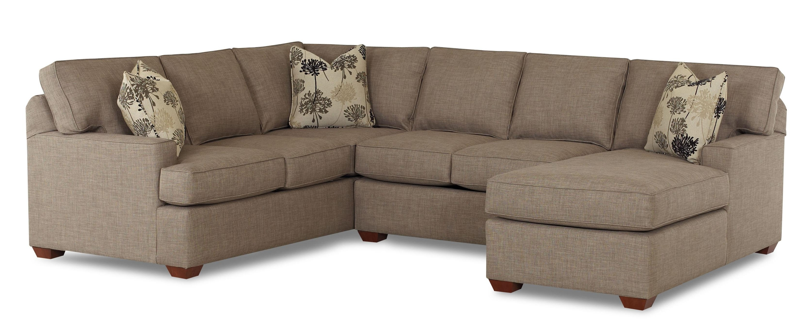 Sectionals Sofas Ethan Allen Sectional Sofas Reviews Small Regarding Well Known Microfiber Sectionals With Chaise (View 14 of 15)