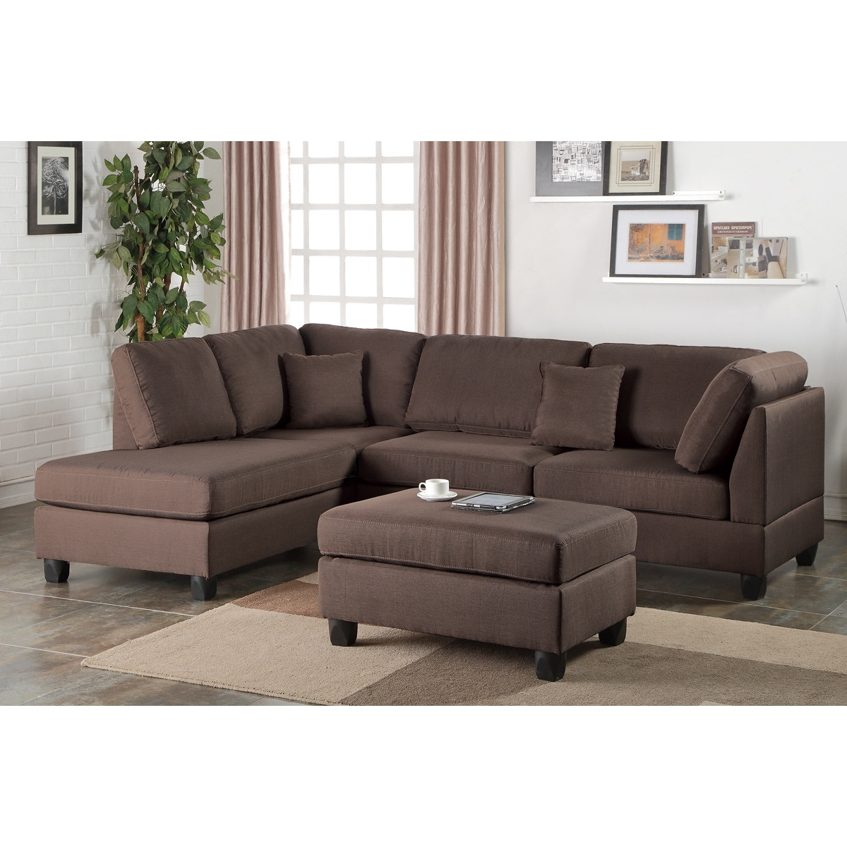 Sectionals With Reversible Chaise Home Design (View 4 of 15)