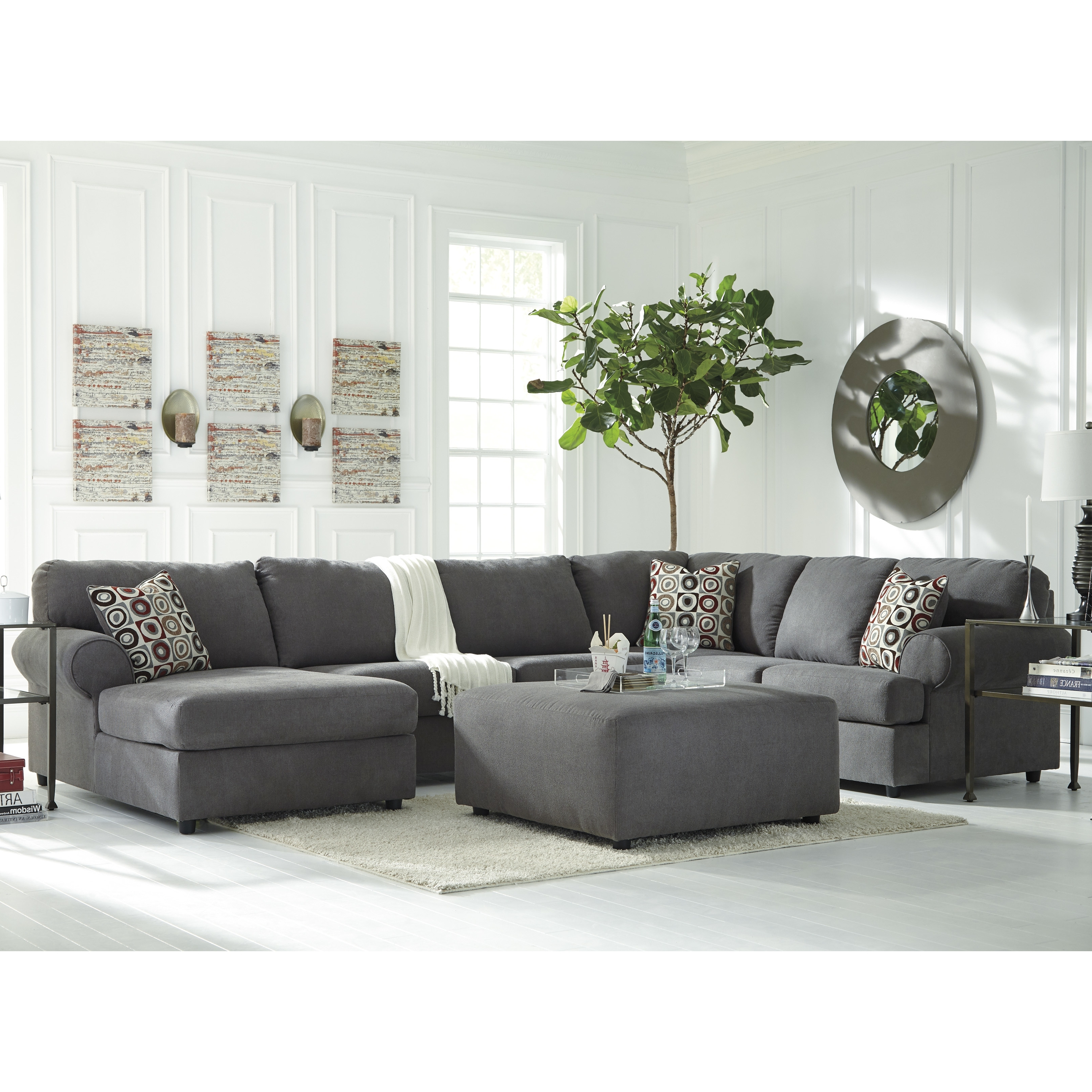 Sellersville Reversible Sectional (View 4 of 15)