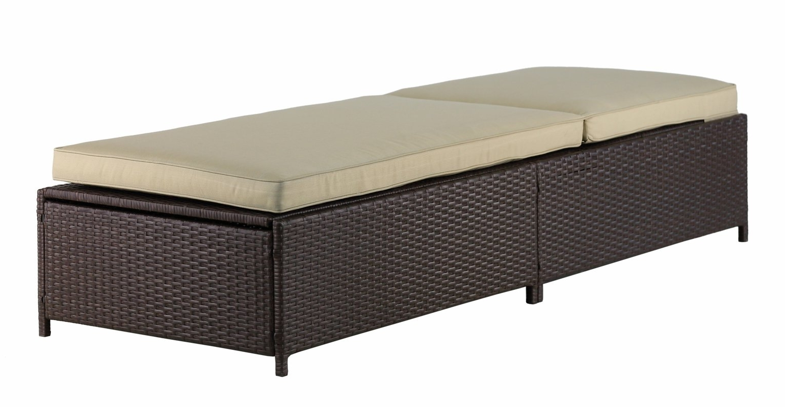 Serta At Home Laguna Outdoor Storage Chaise Lounge & Reviews (View 14 of 15)