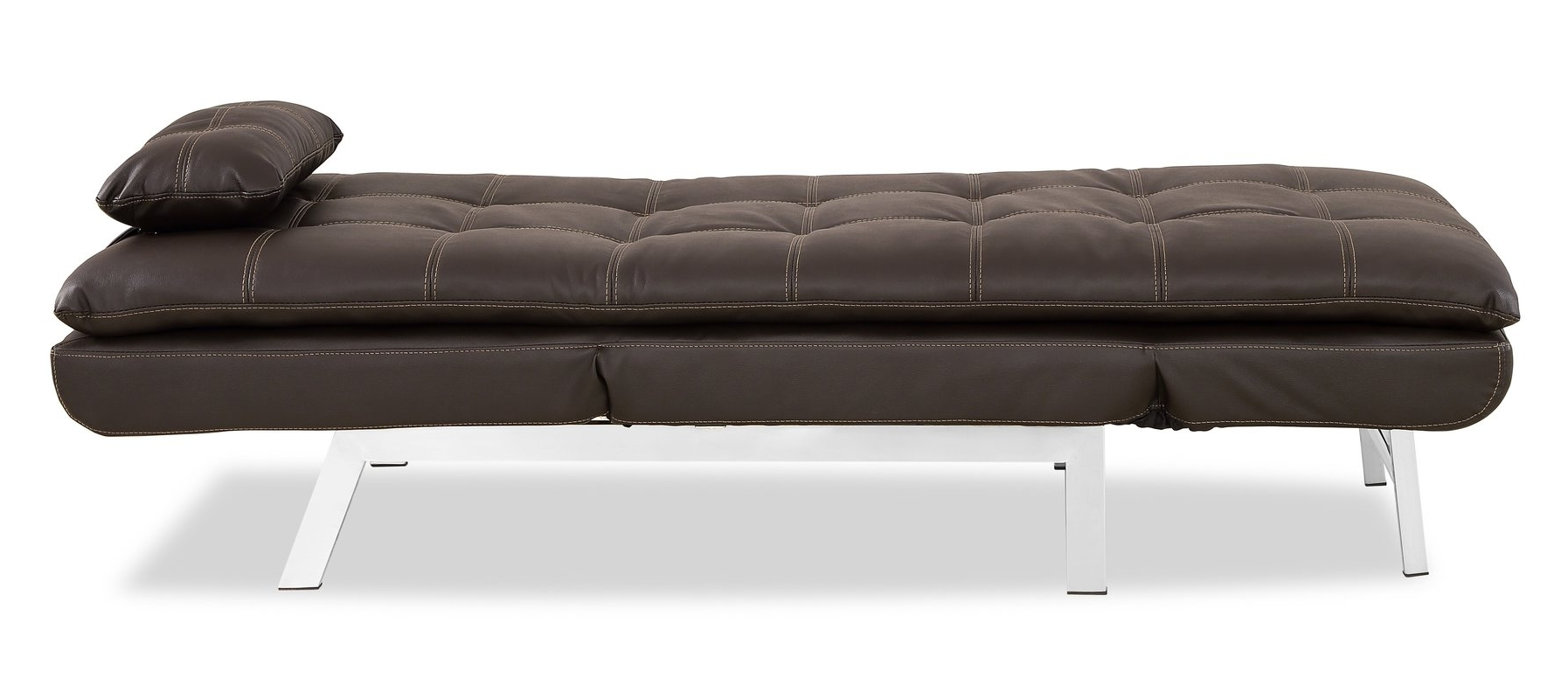 Serta Futons Vienna Convertible Chaise Lounge & Reviews (View 10 of 15)