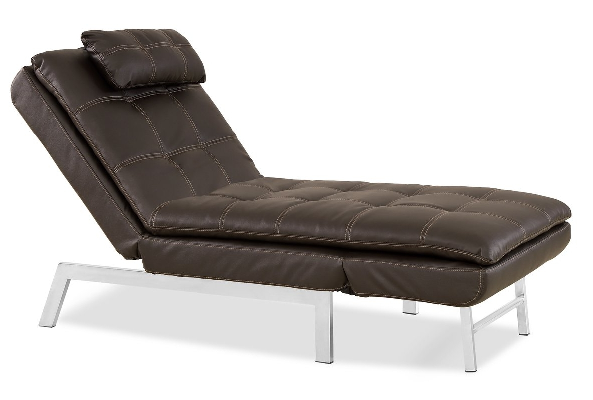 Serta Futons Vienna Convertible Chaise Lounge & Reviews (View 2 of 15)