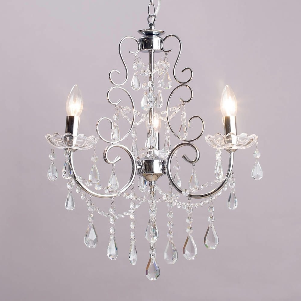 Shade Chandelier Lighting (View 12 of 15)