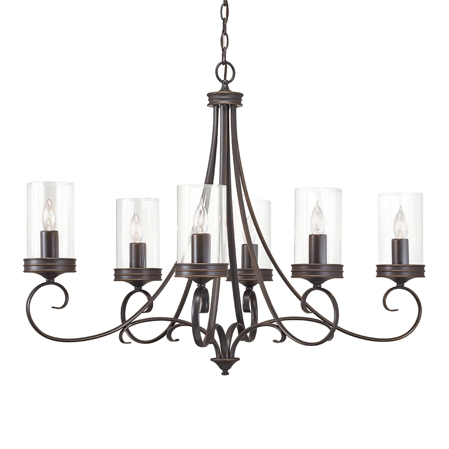Shop Chandeliers At Lowes Throughout Best And Newest Candle Look Chandeliers (View 14 of 15)