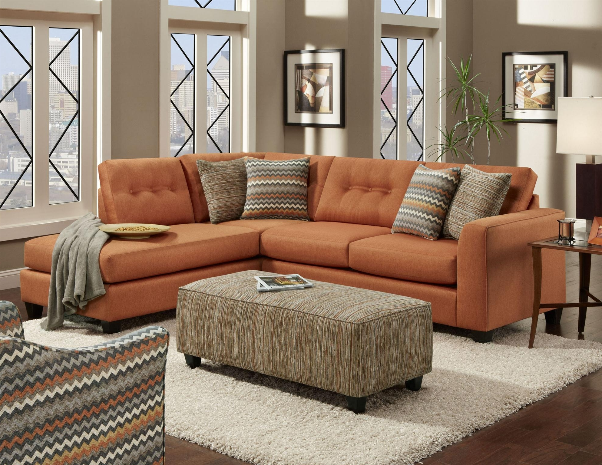 Should You Consider A Sectional? – Wg&r Furniture Throughout Most Popular Orange Sectional Sofas (View 15 of 15)
