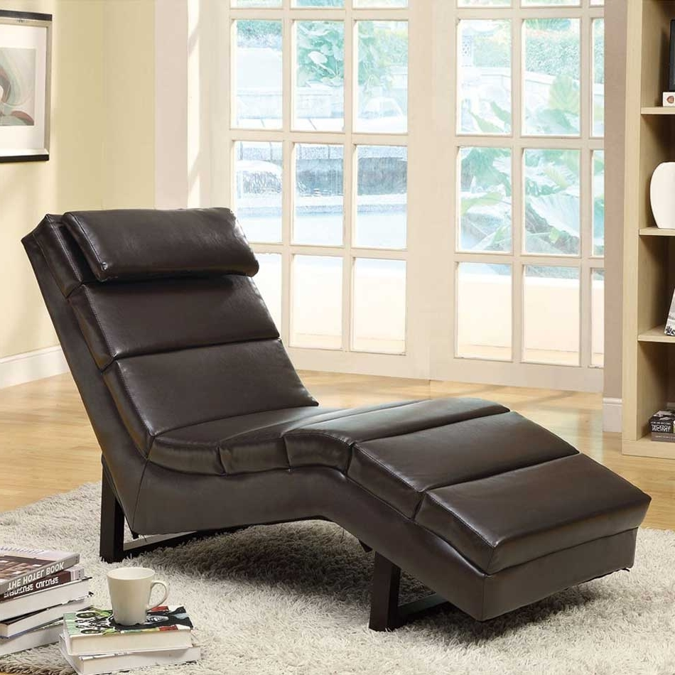 Simple Cleaning Brown Leather Chaise Lounge – Mtc Home Design Pertaining To Popular Brown Leather Chaise Lounges (View 11 of 15)