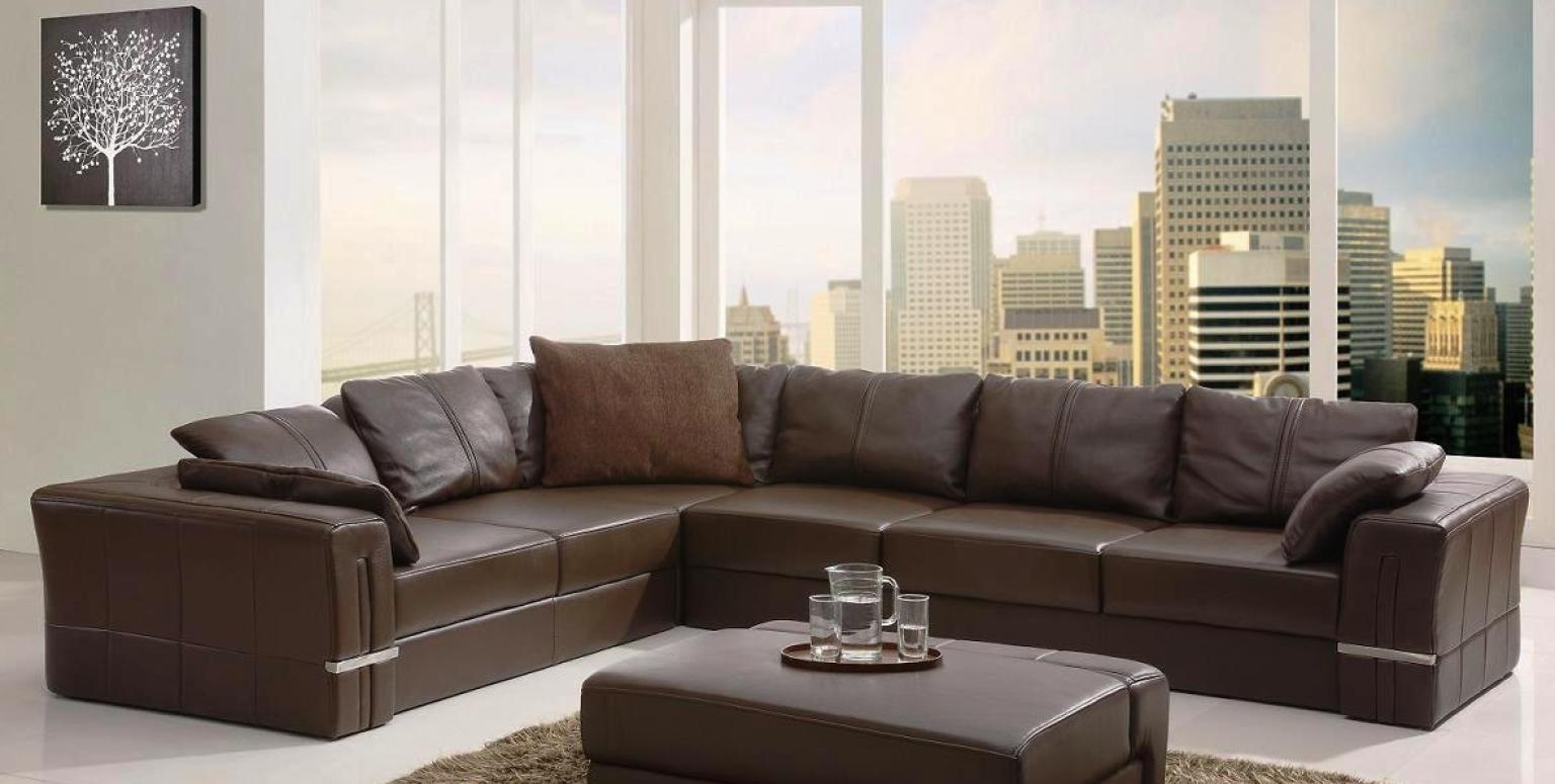Sleek Sectional Sofas In Most Recent Gallery Sleek Sectional Sofas – Mediasupload (View 10 of 15)