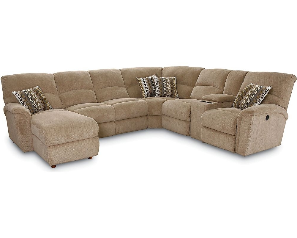 Sleek Sectional Sofas Inside Recent Reclining Sectional Sofa With Sleeper – Hotelsbacau (View 11 of 15)