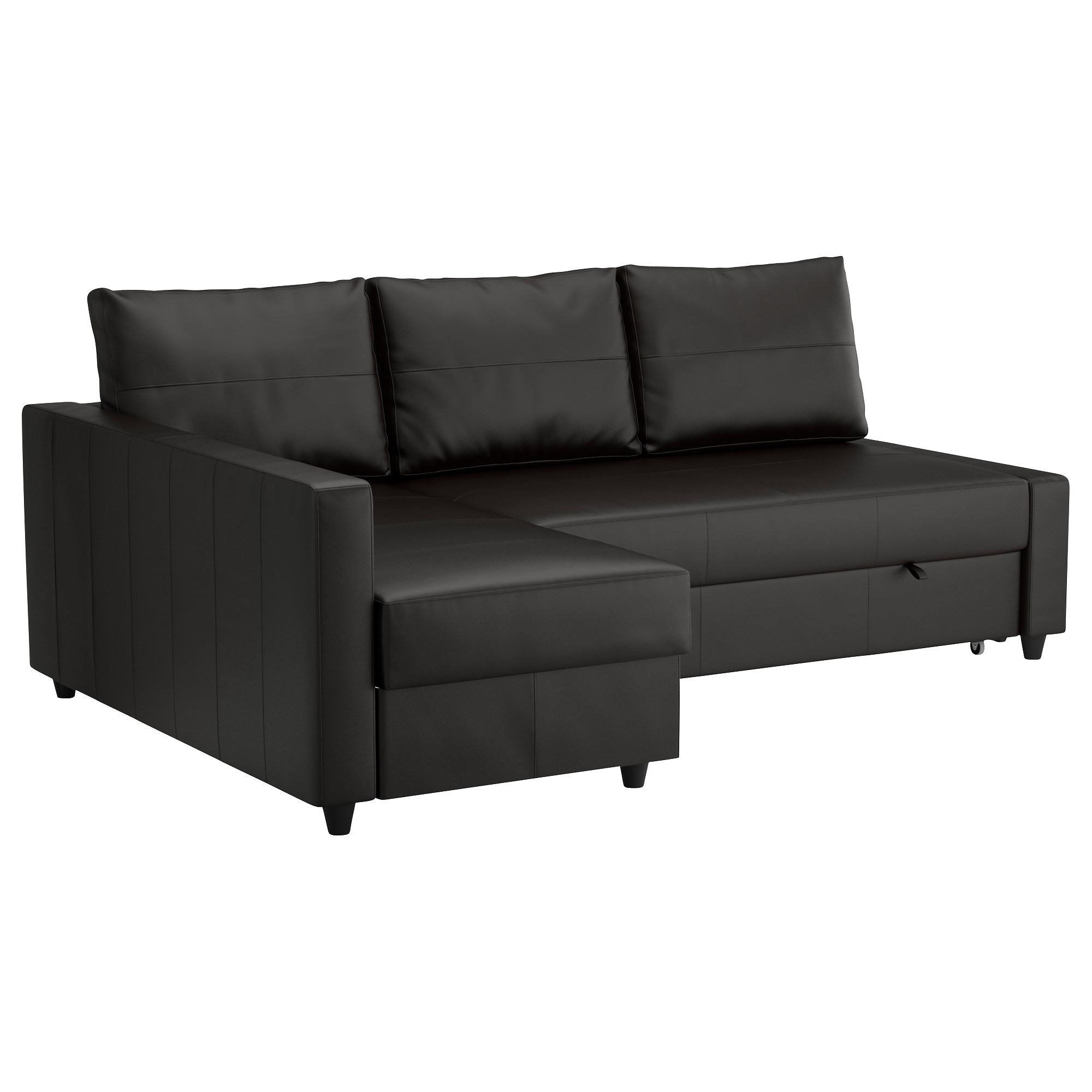Sleeper Chaise Sofas With Regard To Most Up To Date Friheten Sleeper Sectional,3 Seat W/storage – Skiftebo Dark Gray (View 10 of 15)