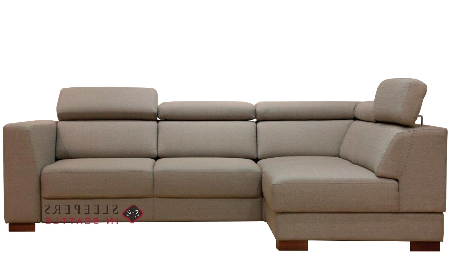 Sleeper Chaises For Most Up To Date Customize And Personalize Halti Chaise Sectional Fabric Sofa (View 12 of 15)