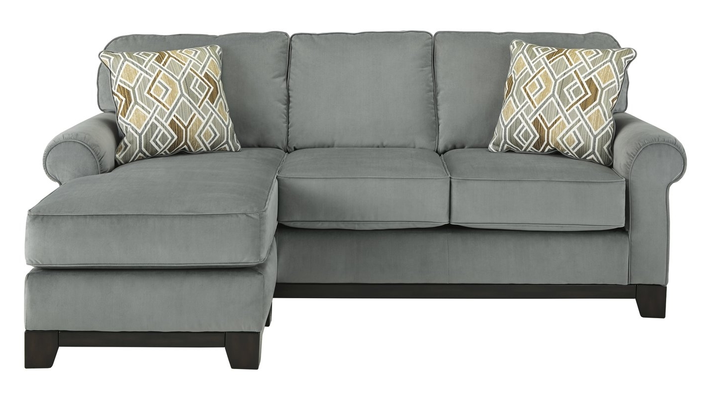 Sleeper Sofas With Chaise Throughout Well Known Benchcraft Queen Sofa Chaise Sleeper & Reviews (View 14 of 15)