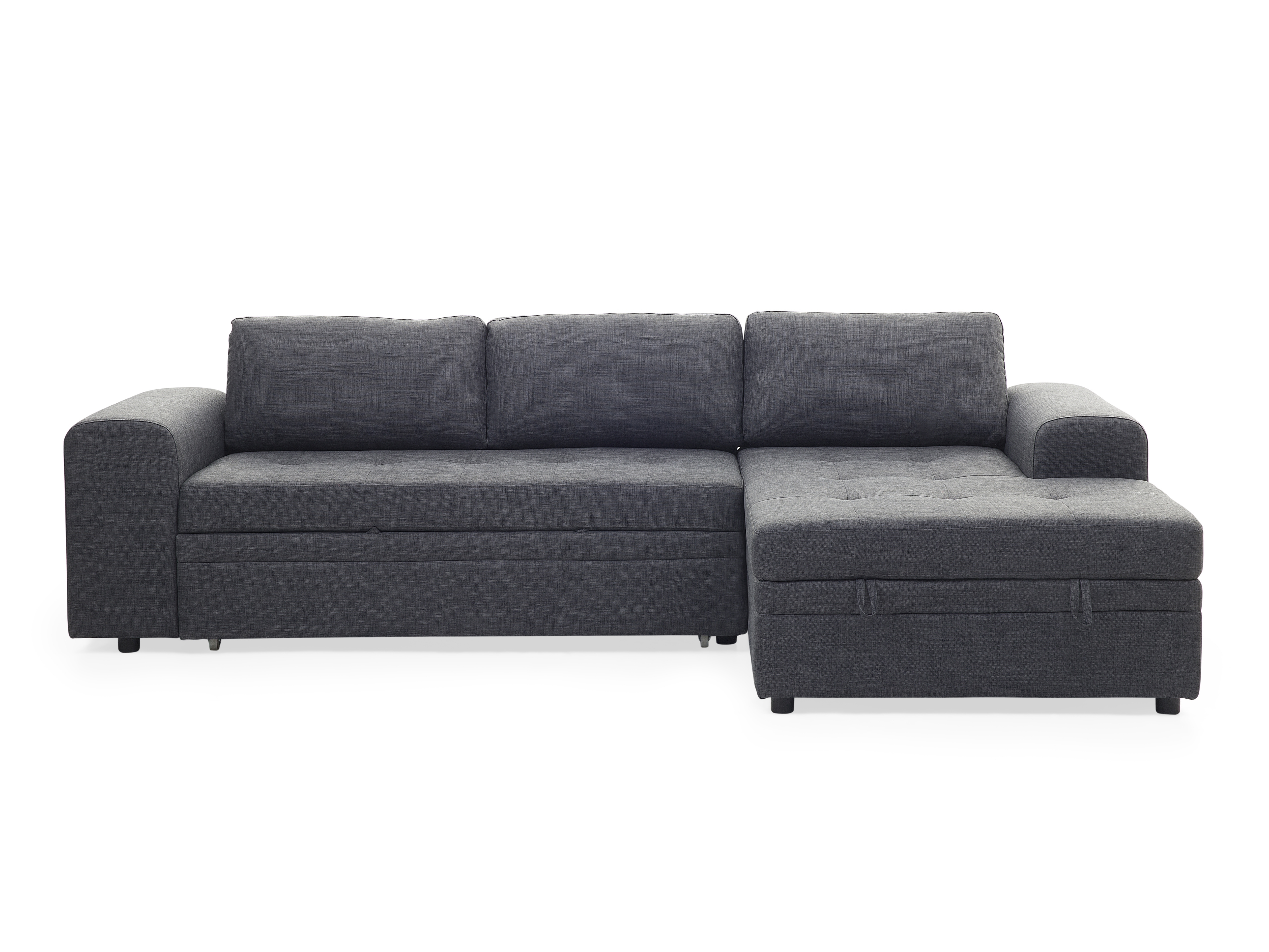 Sleeper Sofas With Chaise Within Most Recently Released Sectional Sleeper Sofa – Dark Gray Kiruna (View 12 of 15)