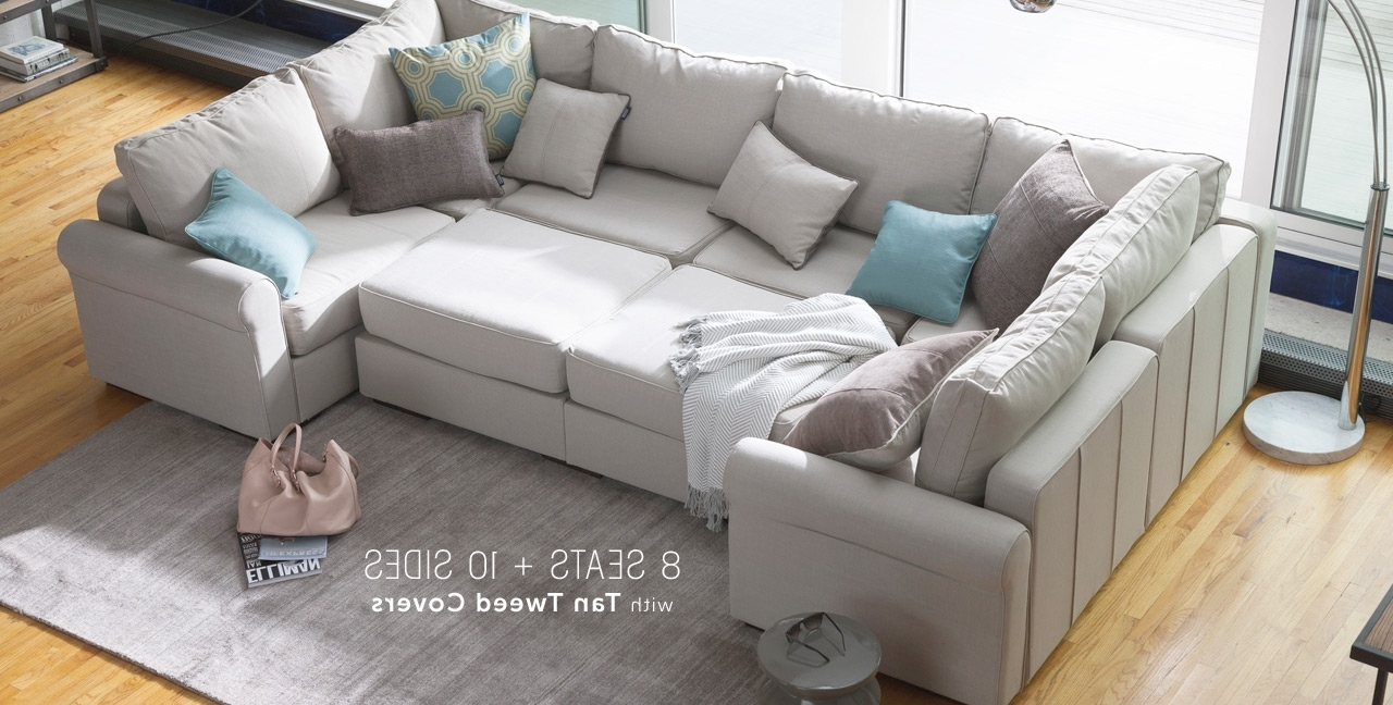 Slipcovered Furniture Manufacturers Robin Bruce Furniture Best Throughout Recent Removable Covers Sectional Sofas (View 12 of 15)