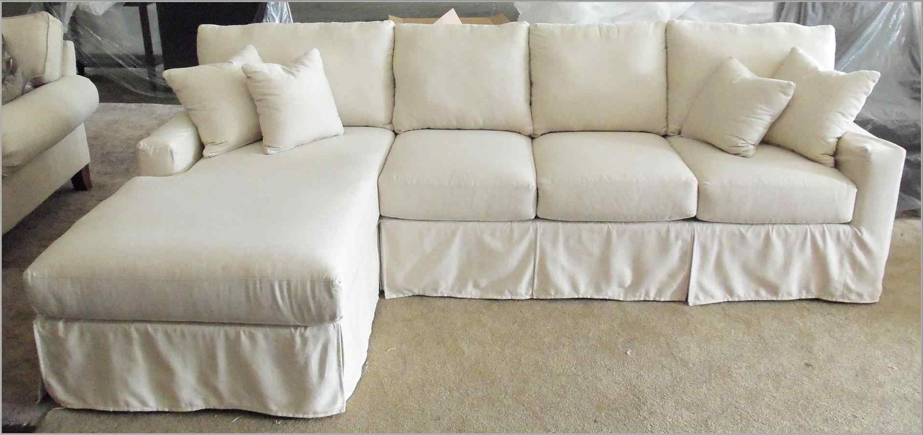 Slipcovers For Sectional Sofa With Chaise Within Latest Sofa With Chaise Slipcover – Amazing Furniture, Interior And Home (View 11 of 15)