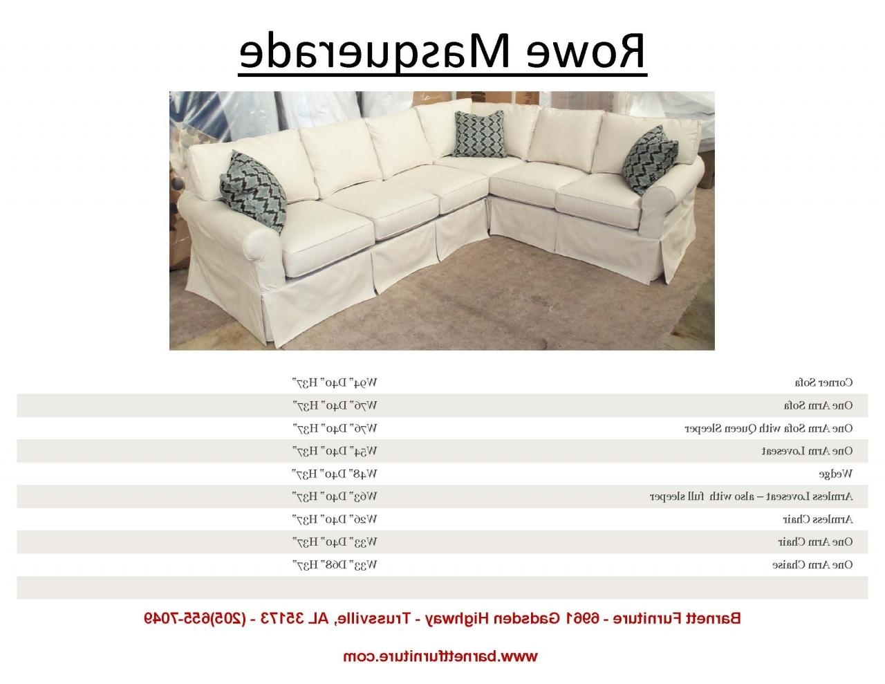 Slipcovers For Sectionals With Chaise For Most Recent Barnett Furniture – Slipcover Sofas Sectionals, Chair And Ottoman (View 12 of 15)