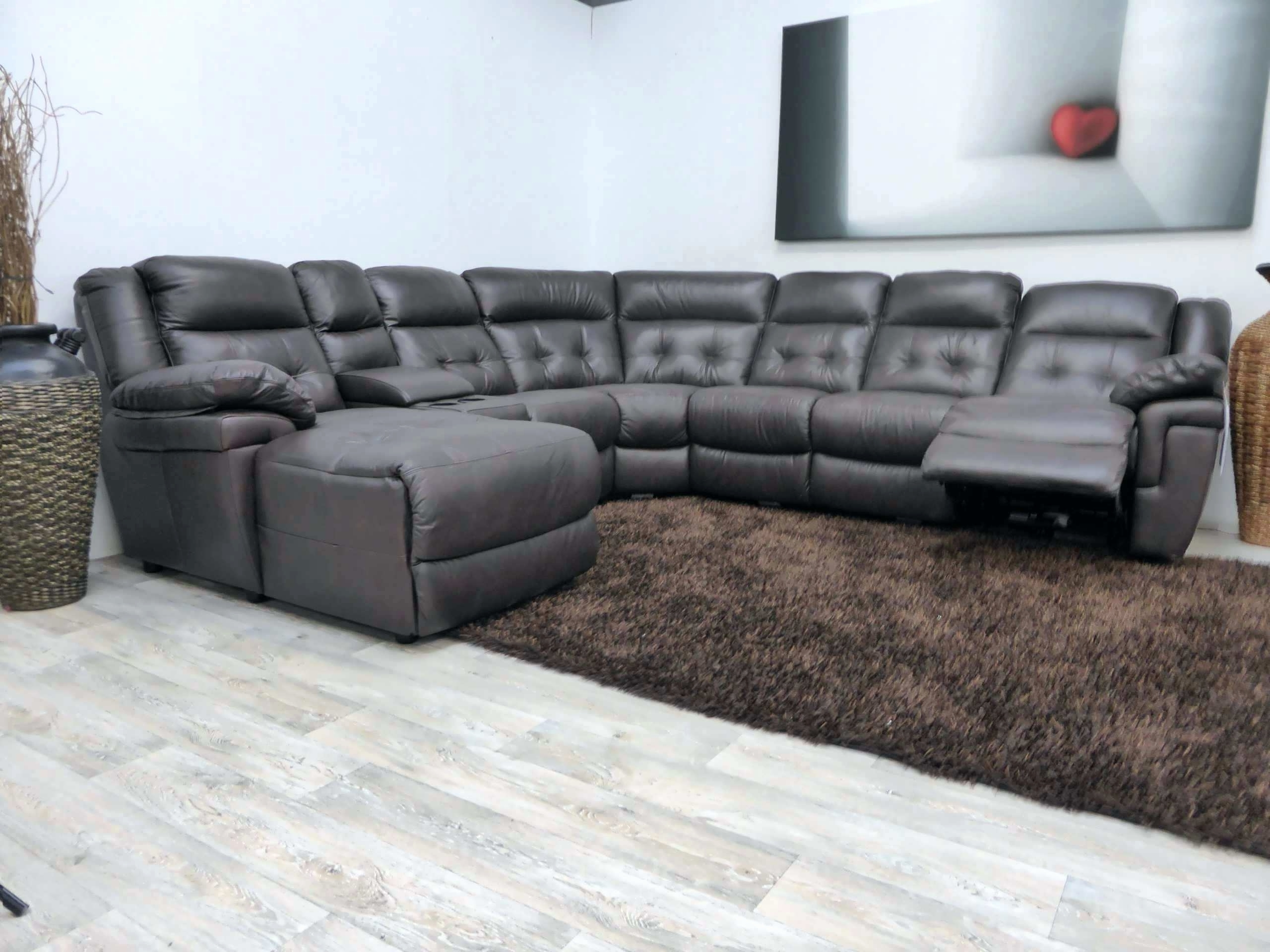Small Chaise Sofas Intended For Famous Unique Apartment Size Leather Sectional Sofa With Chaise  (View 4 of 15)