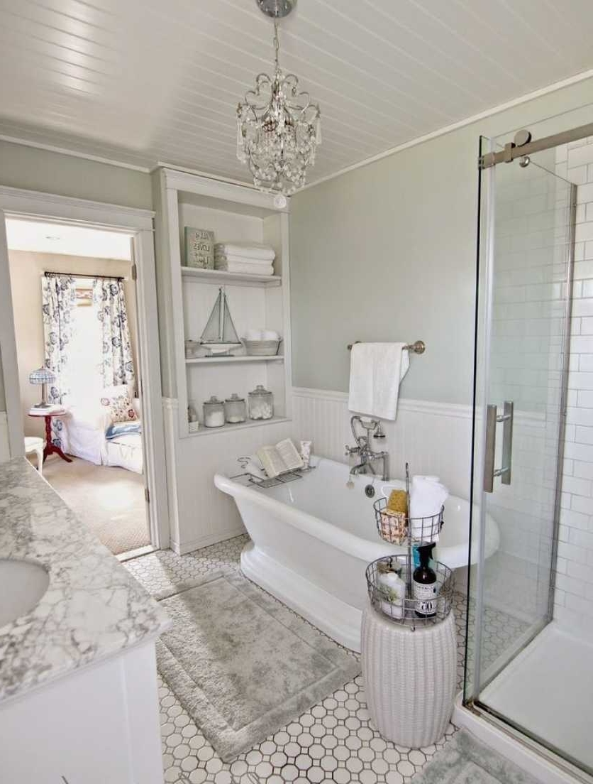 Small Chandeliers For Bathrooms & Complete Ideas Example Pertaining To Recent Chandeliers For Bathrooms (View 13 of 15)