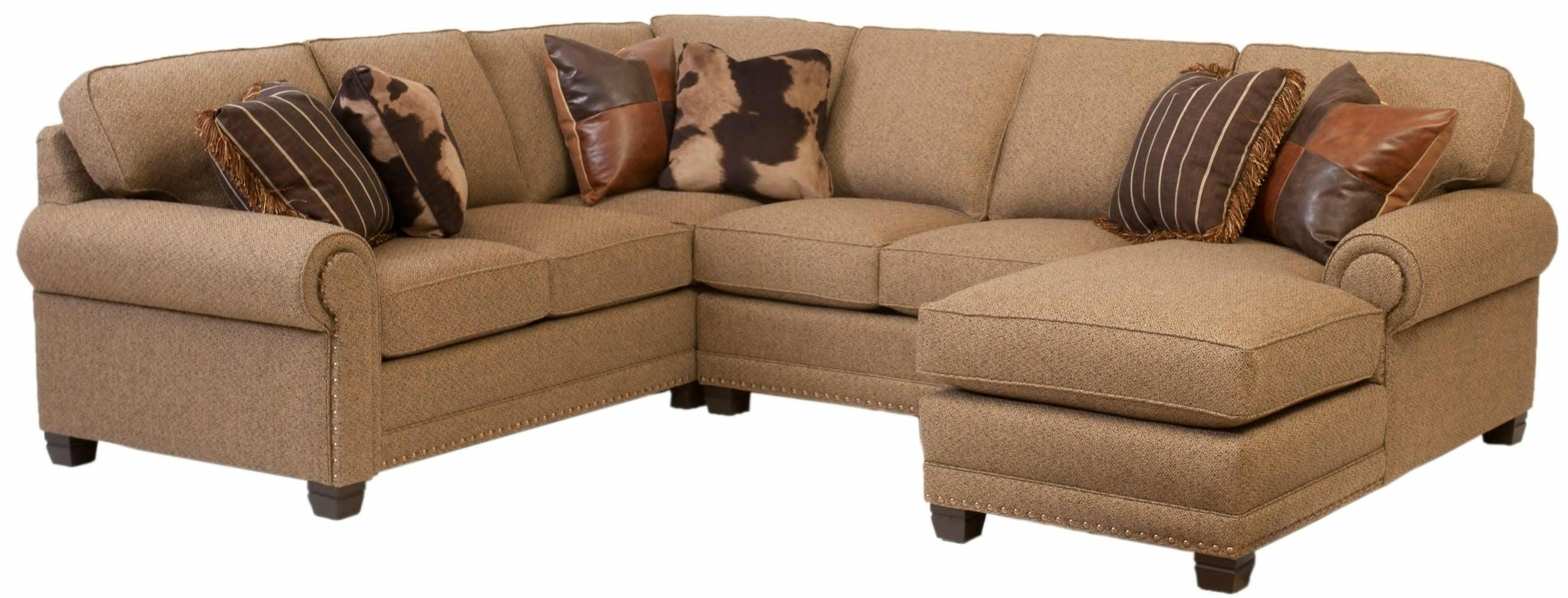 Small Couches With Chaise Lounge Intended For Fashionable Sectional Sofa Design: Small Sectional Sofa With Chaise Lounge (View 10 of 15)