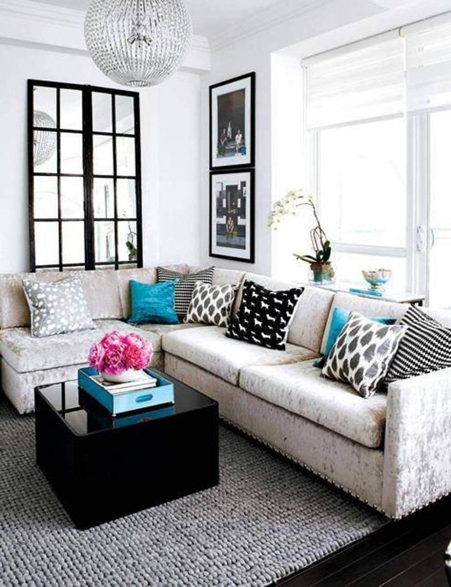 Small Living Room Ideas With Sectional Sofa • Living Room Design With Regard To Most Recent Sectional Sofas For Small Living Rooms (View 9 of 15)