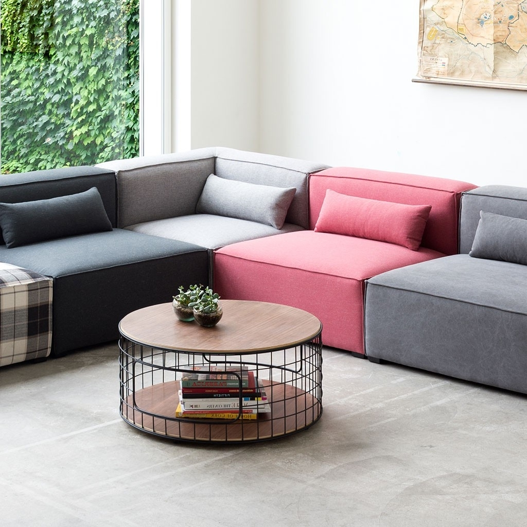 Small Modular Sectional Sofas Pertaining To Most Current Small Corner Sectional Style — Cabinets, Beds, Sofas And (View 12 of 15)