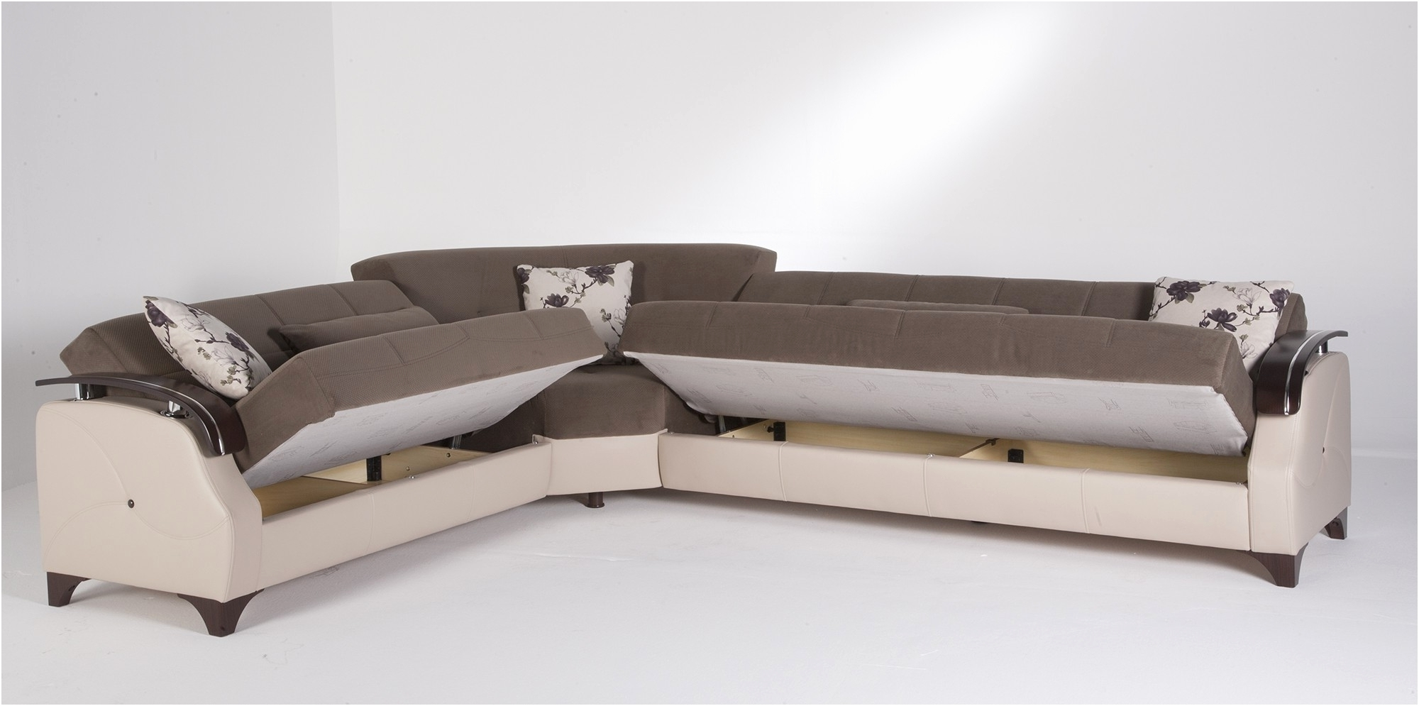 Small Modular Sofas Intended For Recent Living Room : Modular Sofas For Small Spaces Space Saving Dining (View 4 of 15)