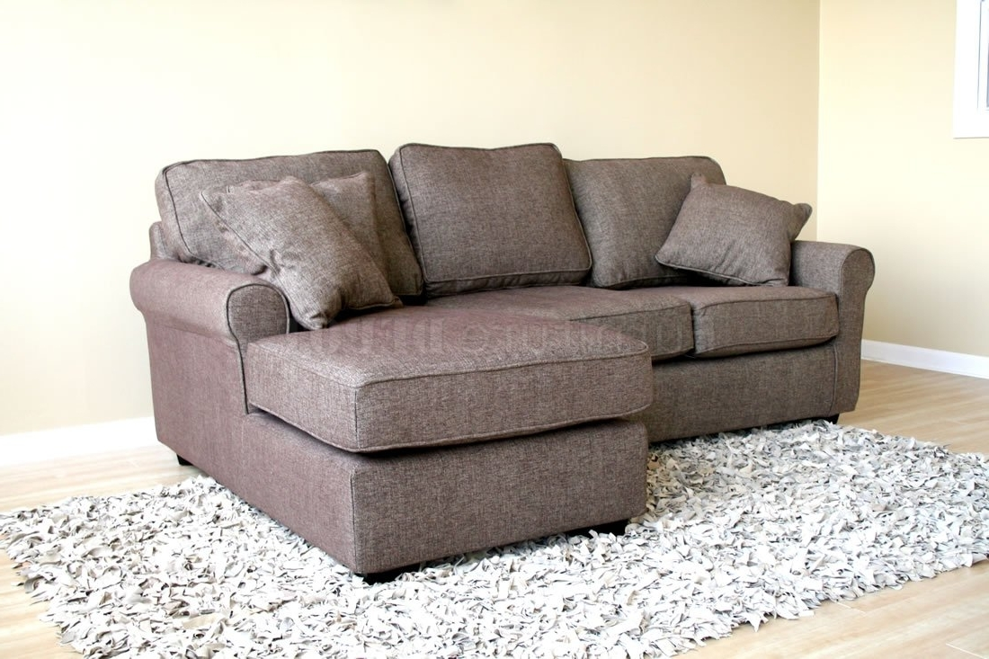 Small Sectional Sofa In Preferred Small Sectional Sofas (View 2 of 15)