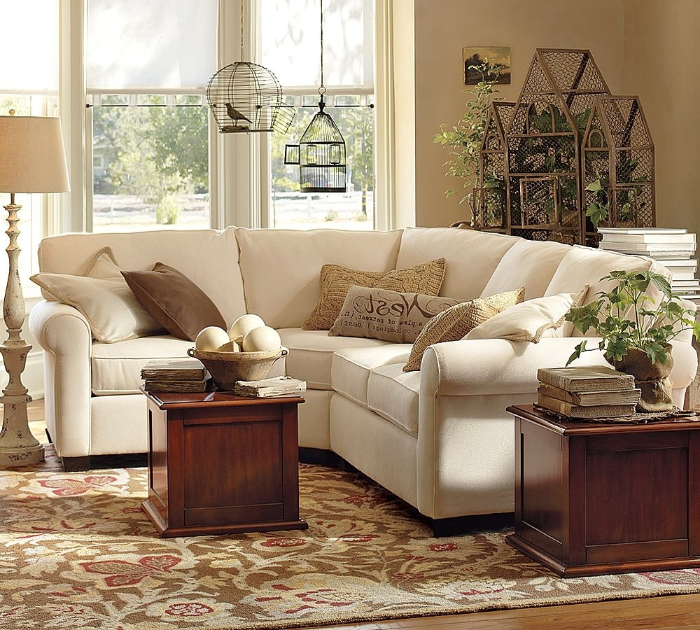 Small Sectional Sofa Pottery Barn Within Pottery Barn Sectional Sofas (View 13 of 15)