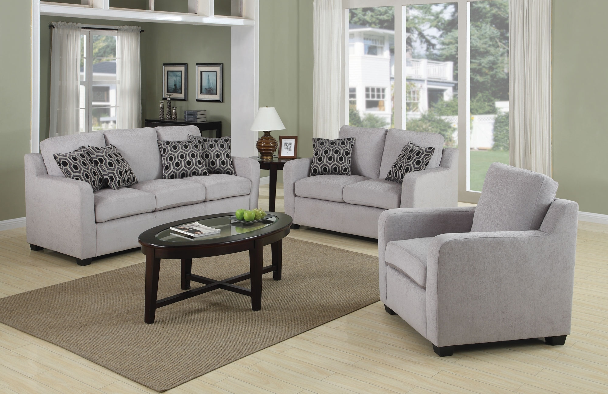 Small Sofas And Chairs Intended For 2017 Furniture: Amazing Set Of Chairs For Living Room 3 Piece Living (View 9 of 15)
