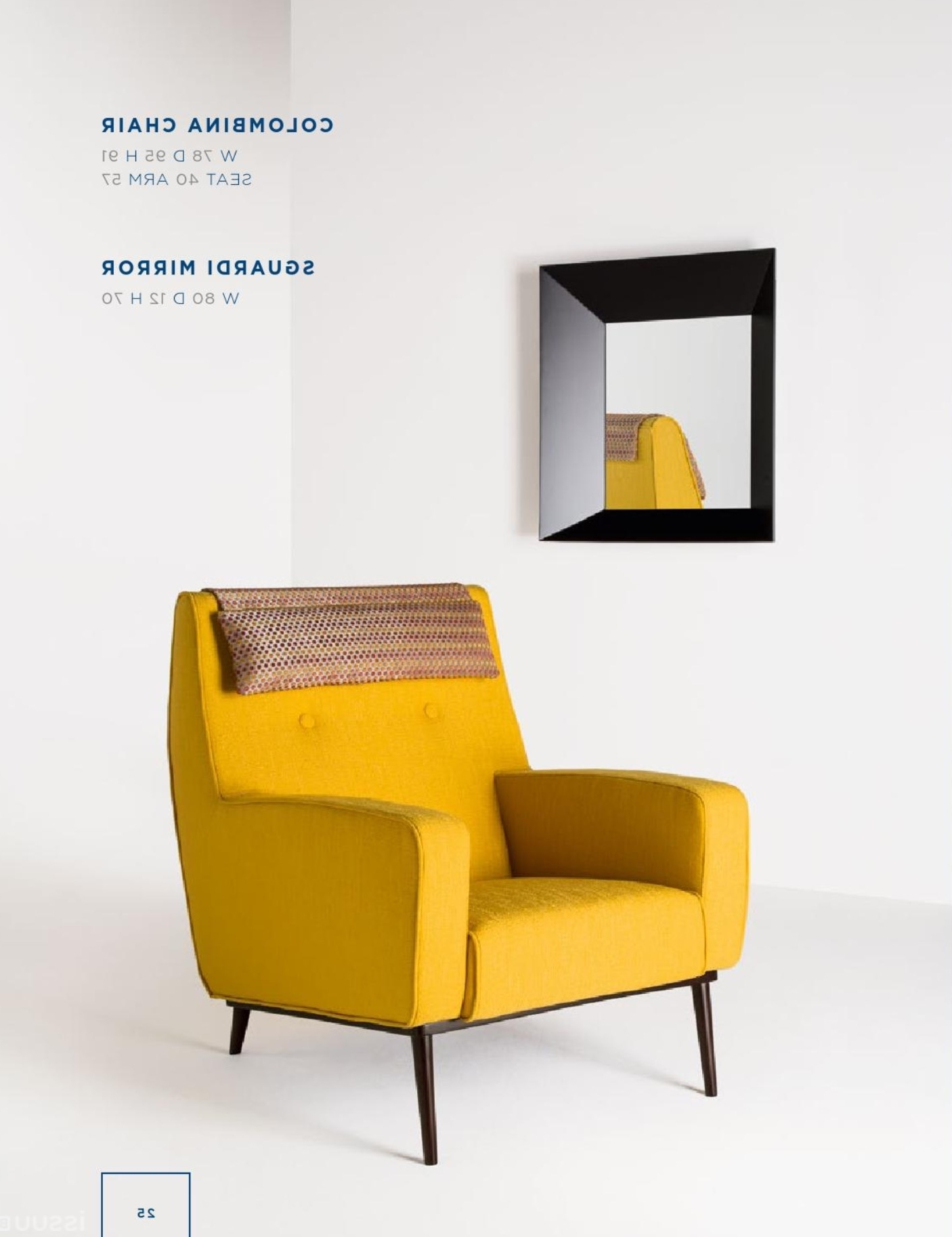 Small Sofas And Chairs Throughout Latest Rubelli Casa – Colombina Chair Sguardi Mirror (View 12 of 15)