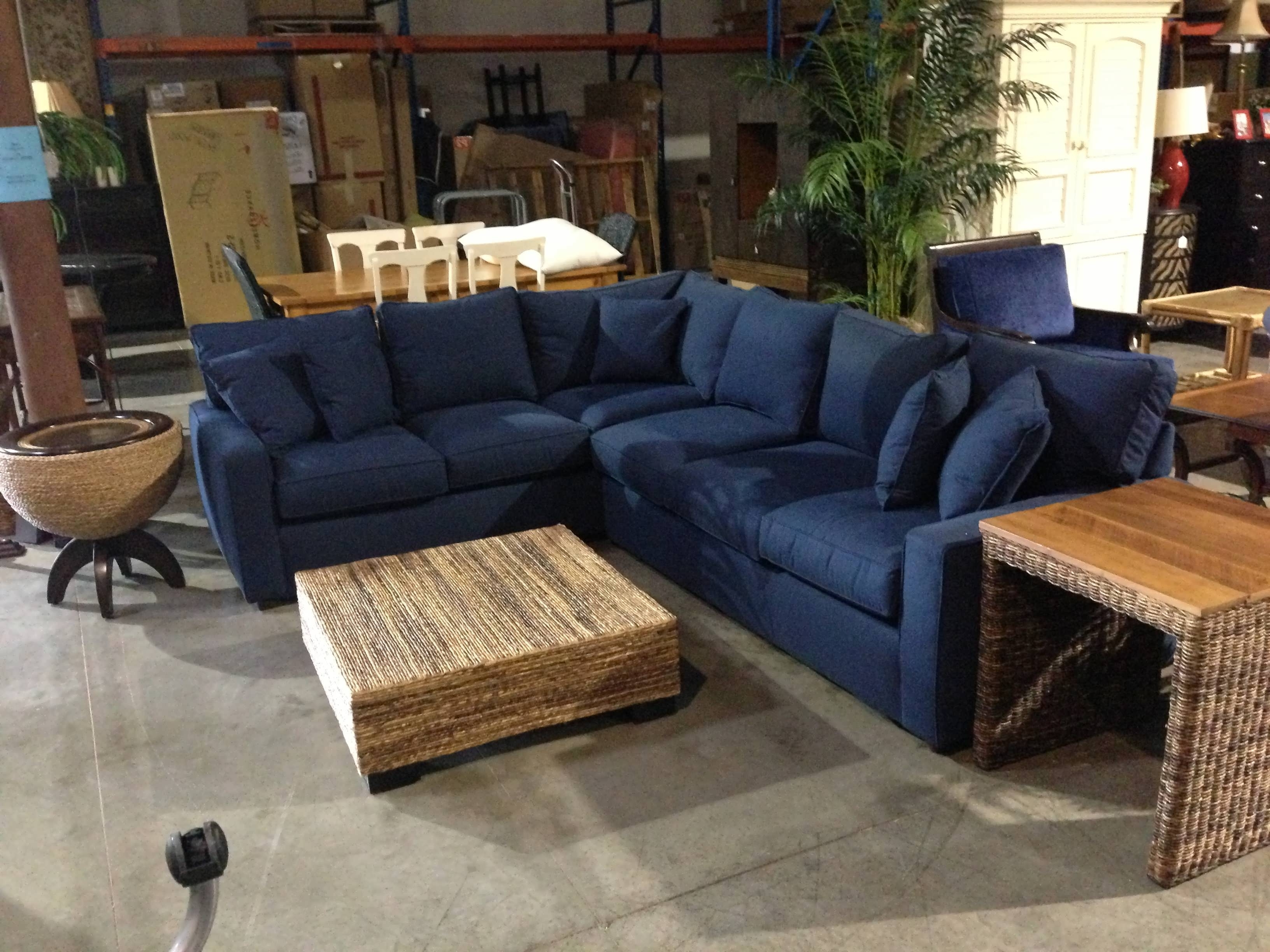 Sofa : 2 Piece Sectional Sofa Lazy Boy Sectional Blue Sectional With Regard To Famous Blue Sectional Sofas With Chaise (View 5 of 15)