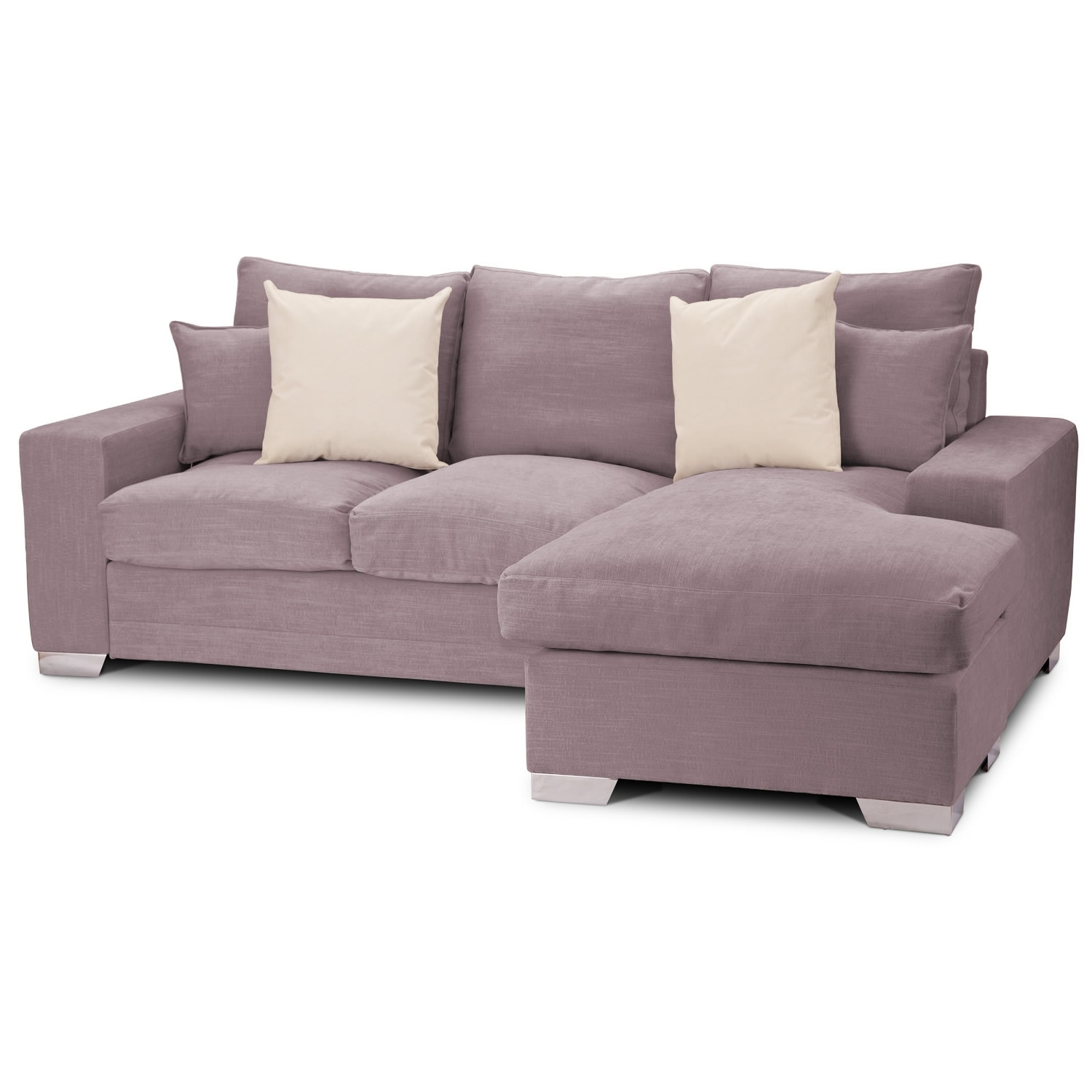 Sofa ~ Astonishing Velvet L Shaped Sofa Soft Gray Velvet Sofa With Regarding Well Known L Shaped Couches With Chaise (View 5 of 15)