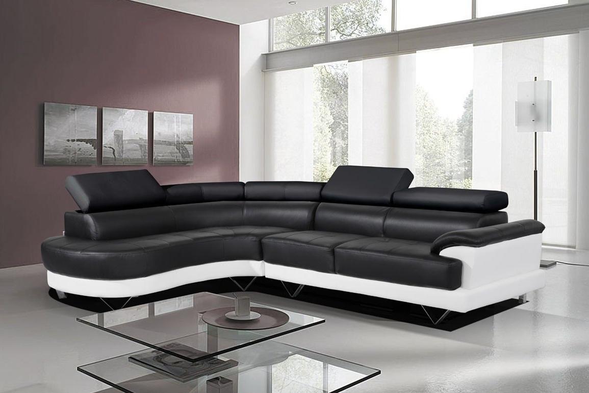 Sofa Black White Sofas Within And Prepare 5 – Visionexchange (View 4 of 15)