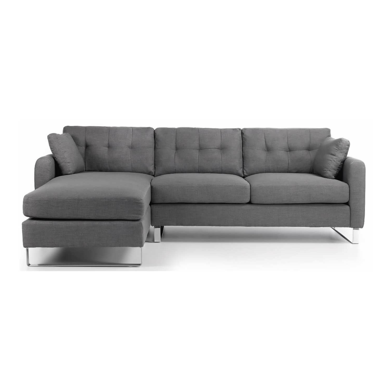 Sofa : Brown Leather Sectional Sectional Sofa Bed Small Sofa For Best And Newest Sofa Beds With Chaise (View 7 of 15)