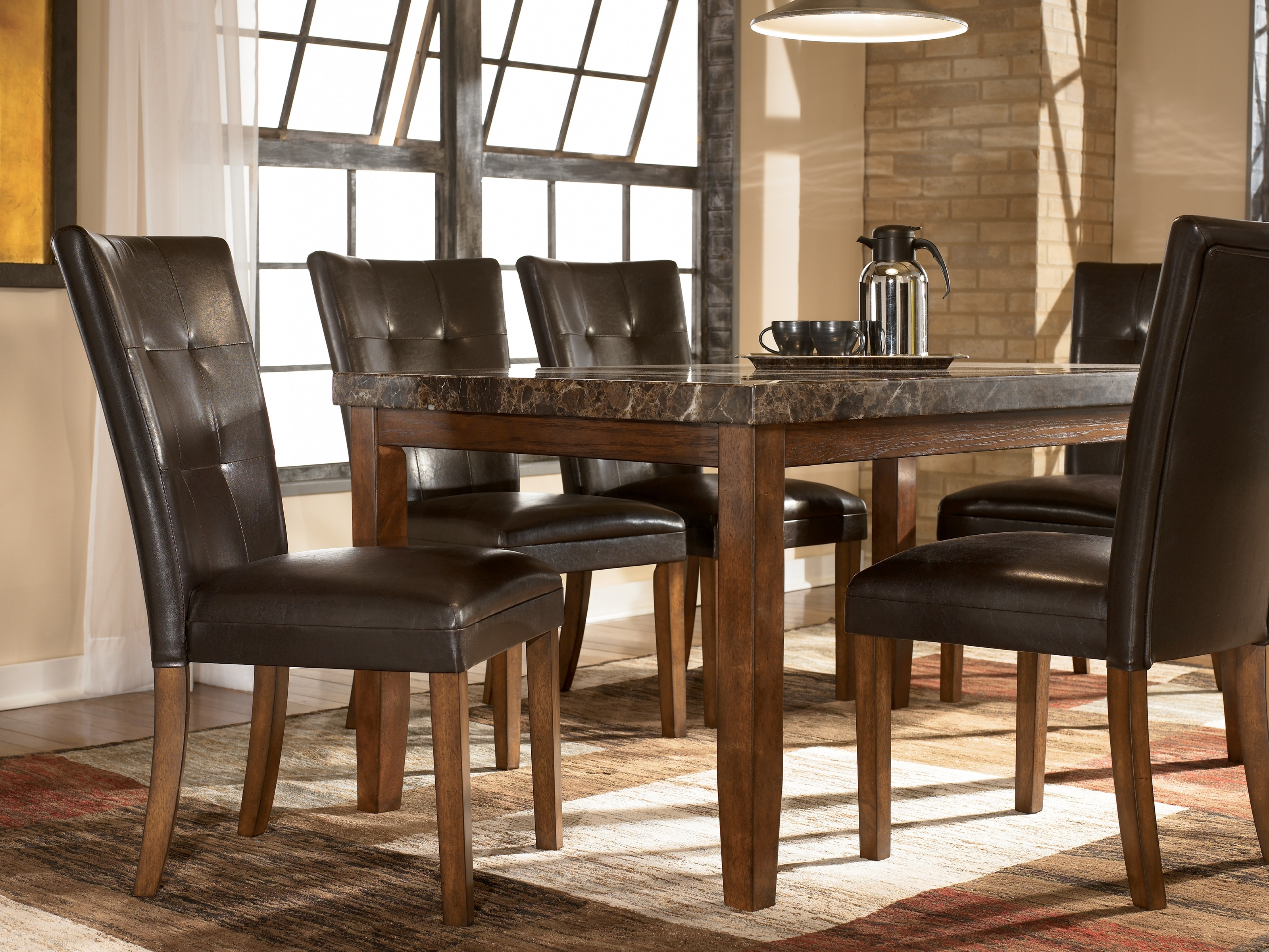 Sofa Chairs With Dining Table With Regard To Trendy Northpoint Home Furnishings Dining Room Furniture In Durango (View 11 of 15)
