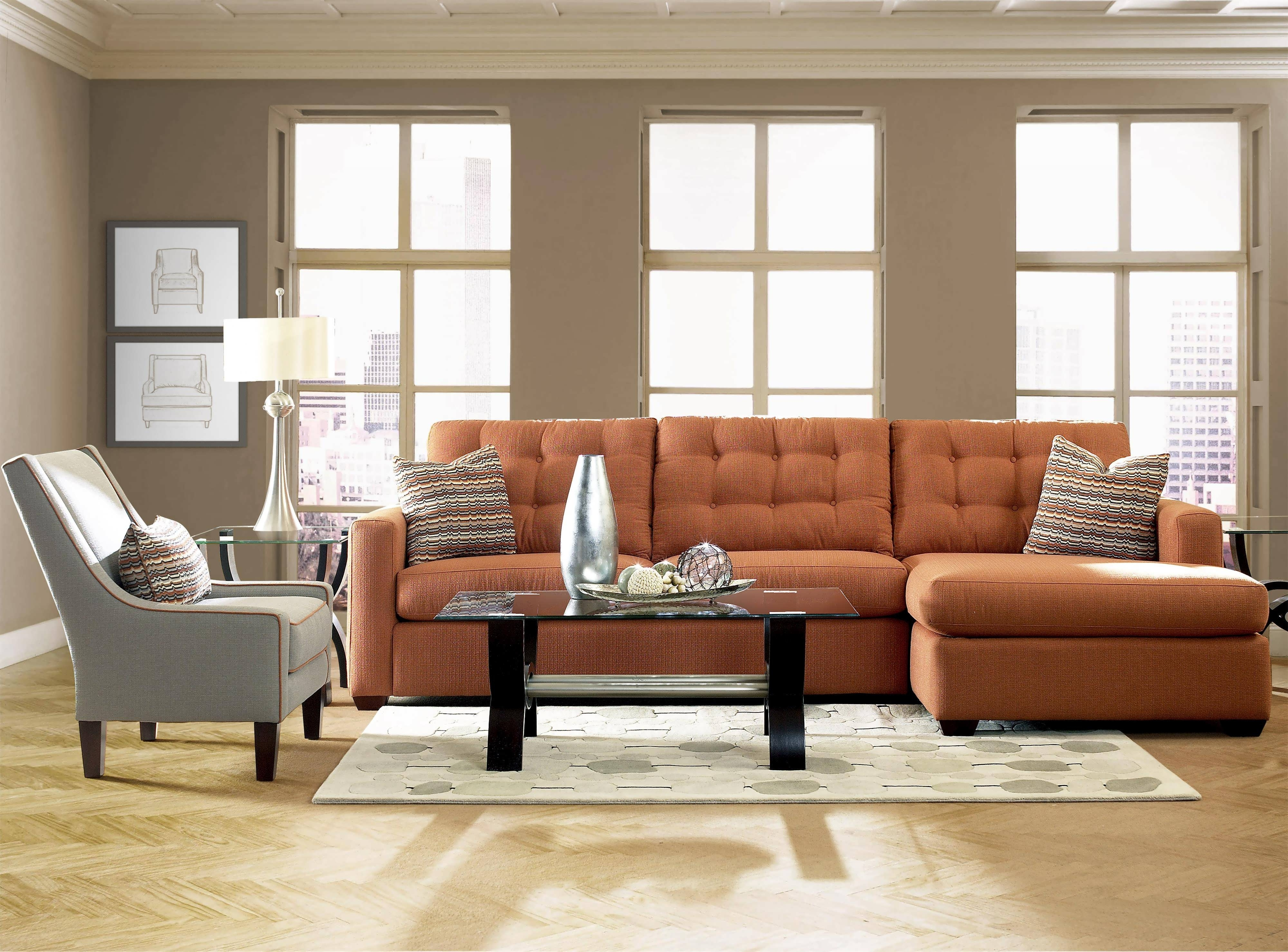 Sofa Chaise Sectionals Pertaining To Most Popular Sofa : Gray Sectional Sectionals For Sale Small L Shaped Sofa (View 13 of 15)