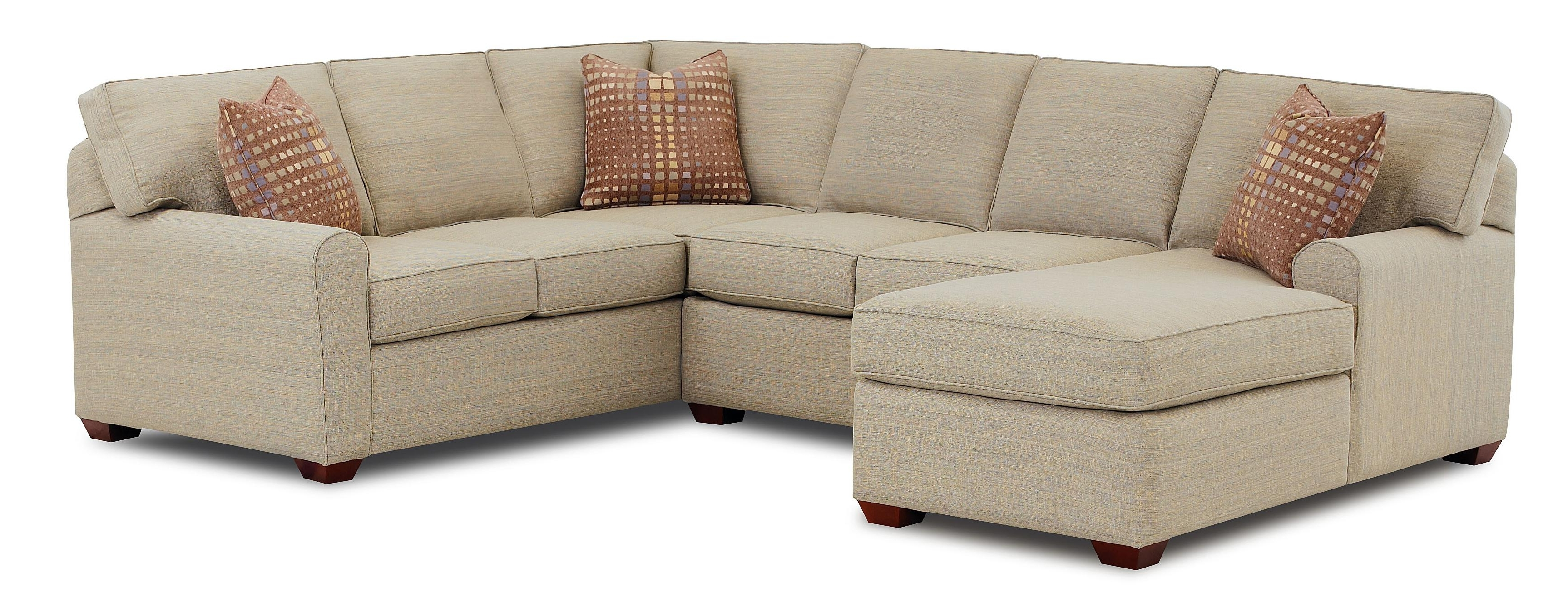Sofa Chaise Sectionals regarding Most Popular Sectional Sofa With Left-Facing Chaise Loungeklaussner