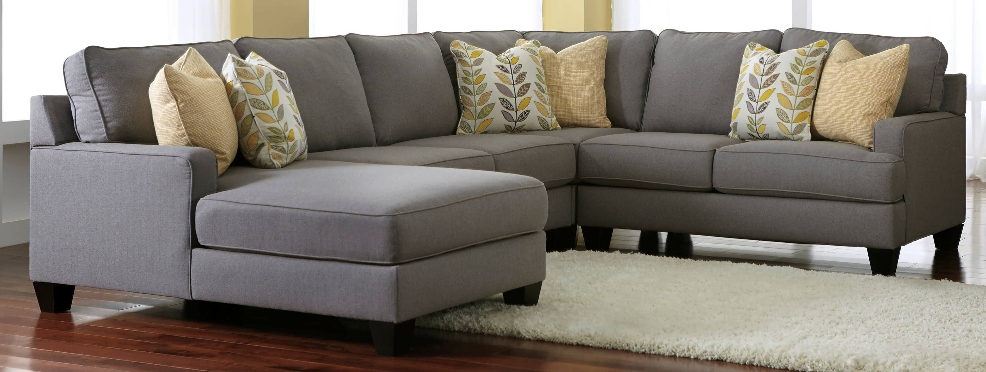 Sofa : Cheap Sectionals Gray Chaise Sofa Gray Sectional With Throughout Well Known Chaise Sectionals (View 13 of 15)