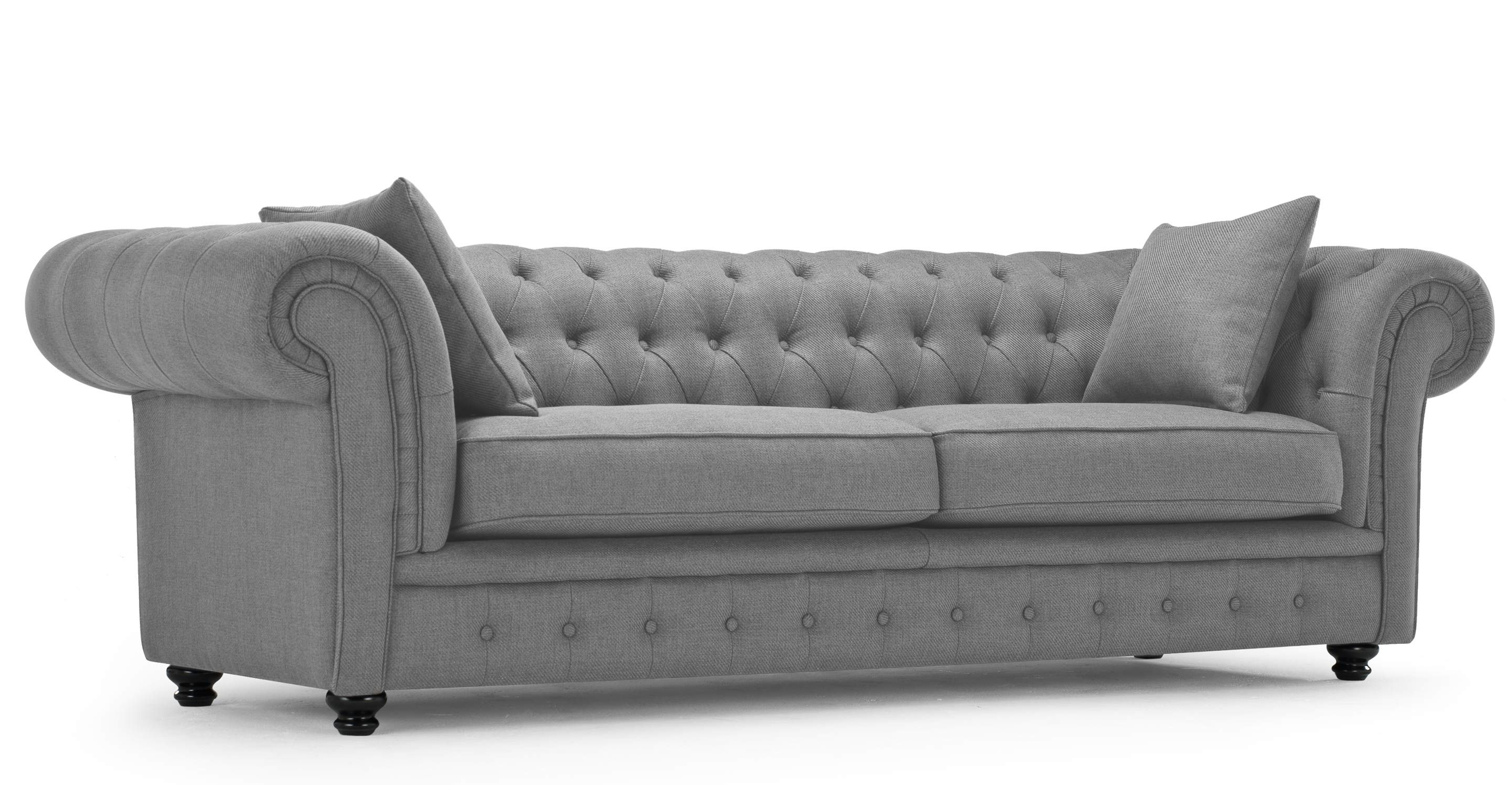 Sofa : Gray Velvet Tufted Couch Grey Sofa And Loveseat Set Grey with regard to Well-known Affordable Tufted Sofas