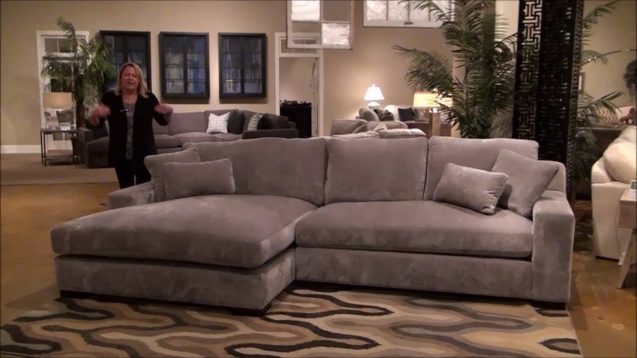 Sofa : Grey Chaise Sofa Wrap Around Couch Sectional Sofa With With Regard To 2017 Double Chaise Sectionals (View 14 of 15)