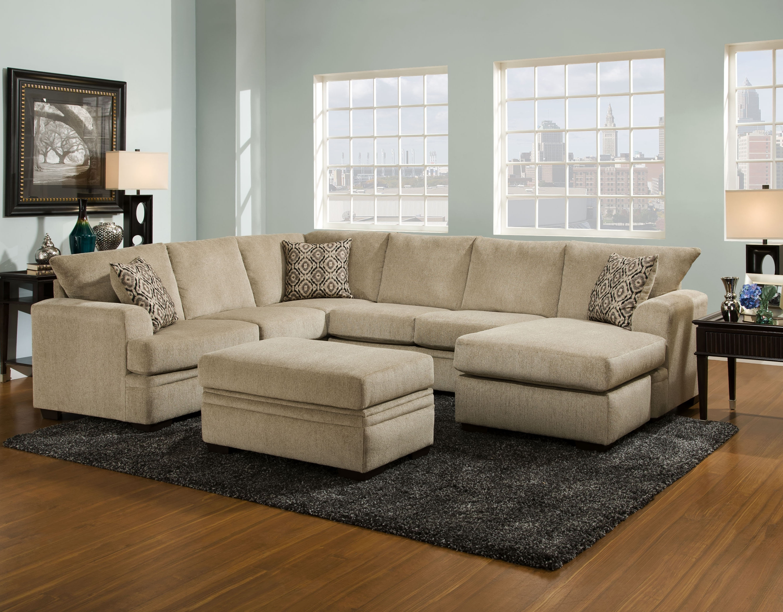 Sofa : Leather U Sectional Best Of Sofas Magnificent L Sectional Regarding Well Known Home Zone Sectional Sofas (View 14 of 15)