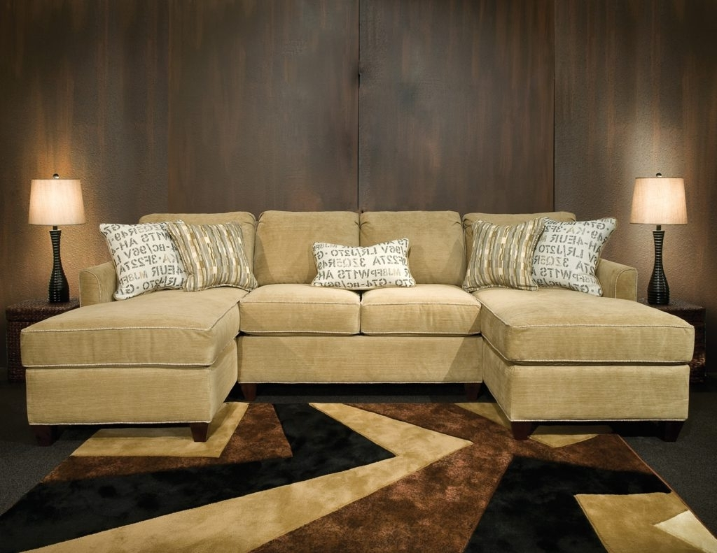 Sofa ~ Living Room: Double Chaise Sectional (View 14 of 15)