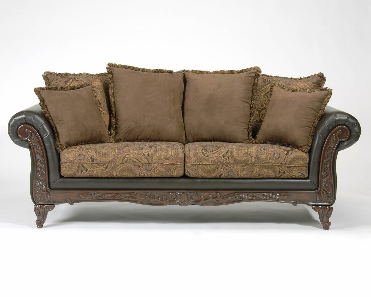 Sofa Loveseat And Chaise Sets With Best And Newest Fabric Classic Sofa & Loveseat Set W/optional Chaise (View 14 of 15)
