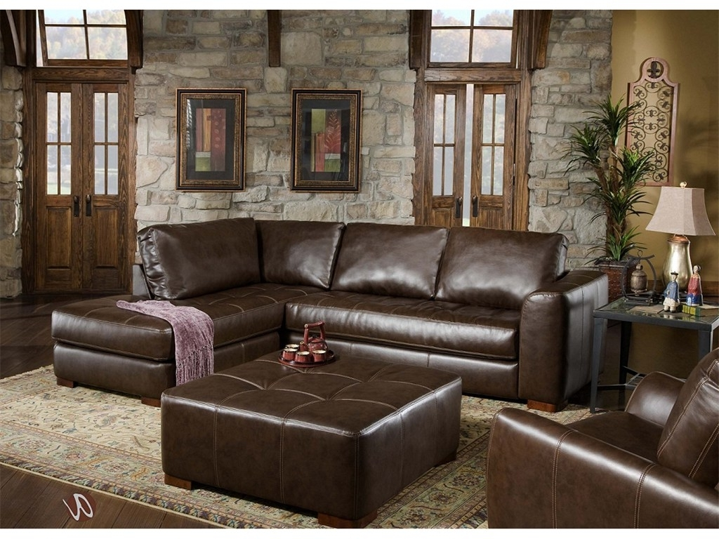 Sofa New Style Modern Leather Set Teak Wood Names Square L Brand For Recent Leather Sofas With Chaise Lounge (View 10 of 15)