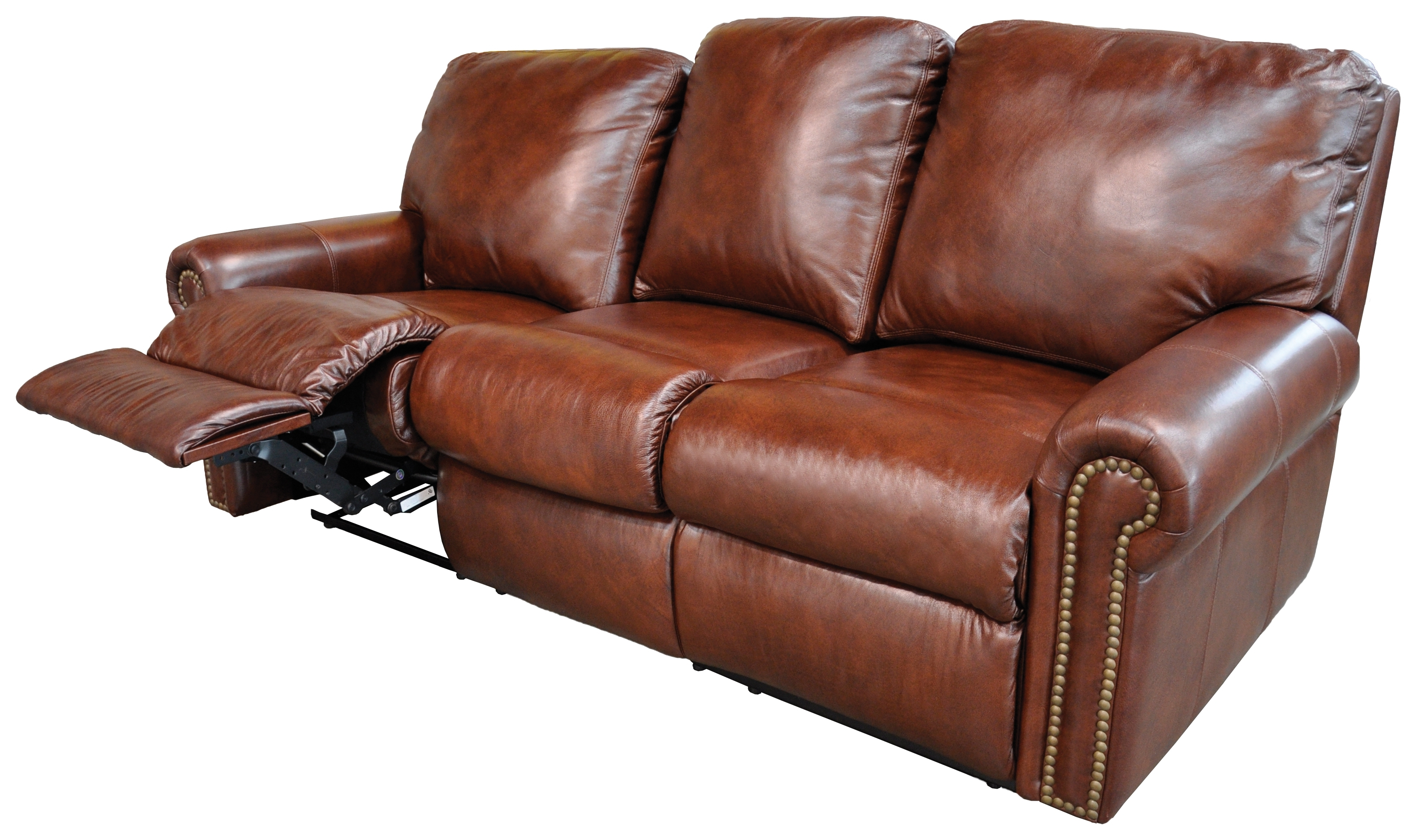 Sofa Recliner Leather – Home And Textiles With Trendy Modern Reclining Leather Sofas (View 10 of 15)
